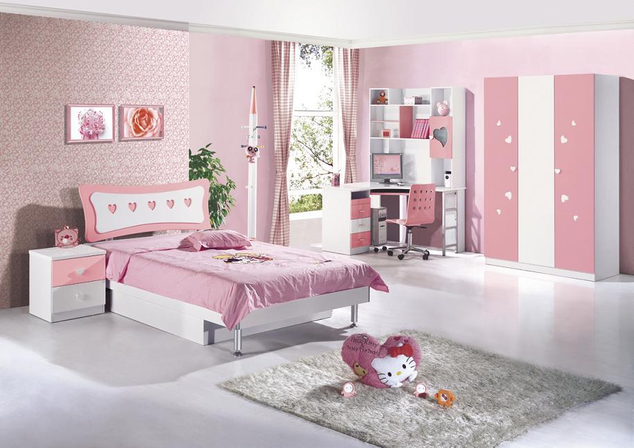 r243żowy zestaw mebli dla dziewczynki fiorella