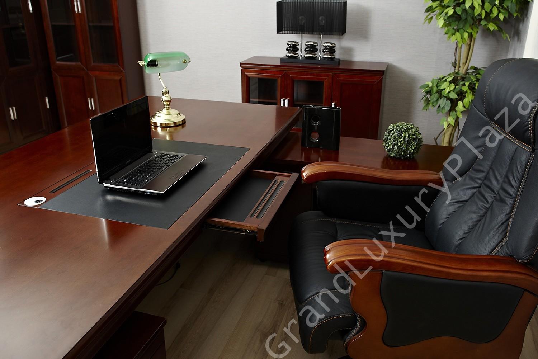 Scrivania tavolo ufficio studio presidenziale direzionale for Scrivanie da arredo