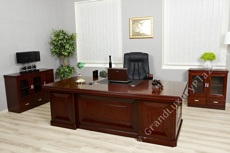 Ekskluzywne biurko gabinetowe dla prezesa consul for Arredo ufficio classico