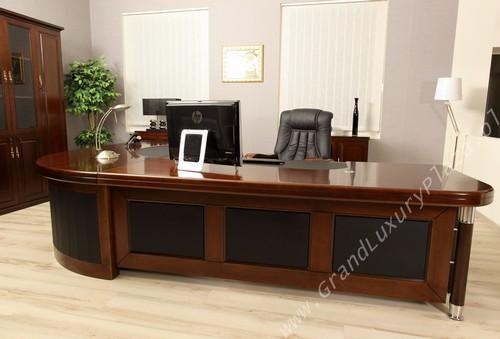 Scrivania tavolo ufficio studio presidenziale direzionale for Dimensioni mobili ufficio
