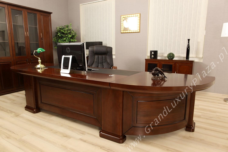 Ekskluzywne stylowe biurko dla prezesa maximus for Mobili studio legale