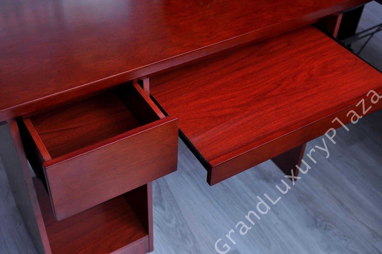 Schreibtisch b roschreibtisch mit container und for Schreibtisch 2m