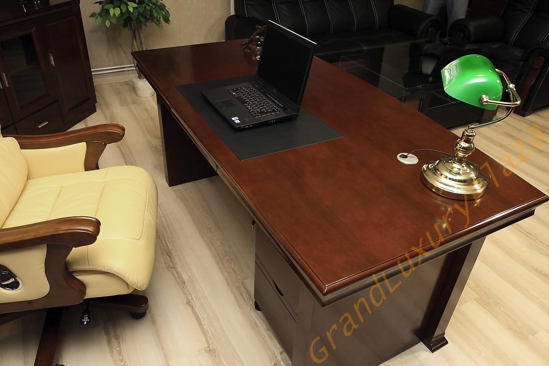 Scrivania tavolo ufficio studio presidenziale direzionale porta pc