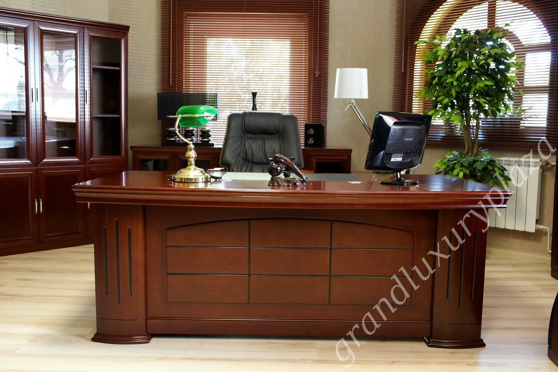 Scrivania tavolo ufficio studio presidenziale direzionale for Tavolo da studio