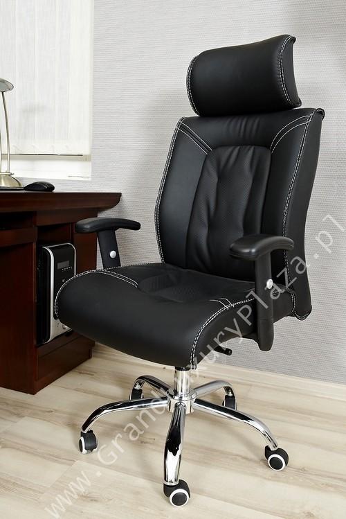 confortable fauteuil pivotant de bureau en cuir triumph. Black Bedroom Furniture Sets. Home Design Ideas