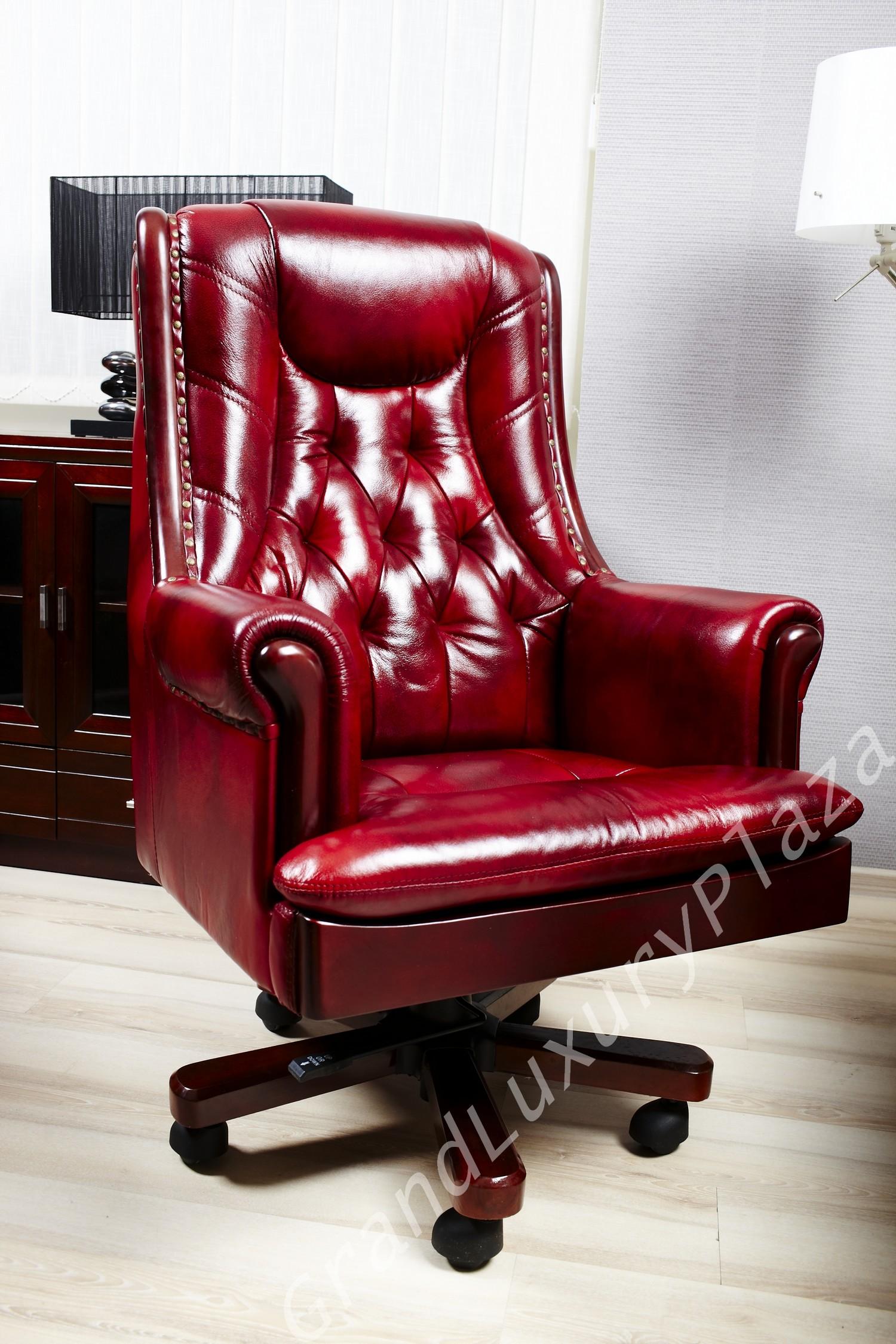 Poltrona sedia presidenziale direzionale pelle ufficio for Poltrone da studio