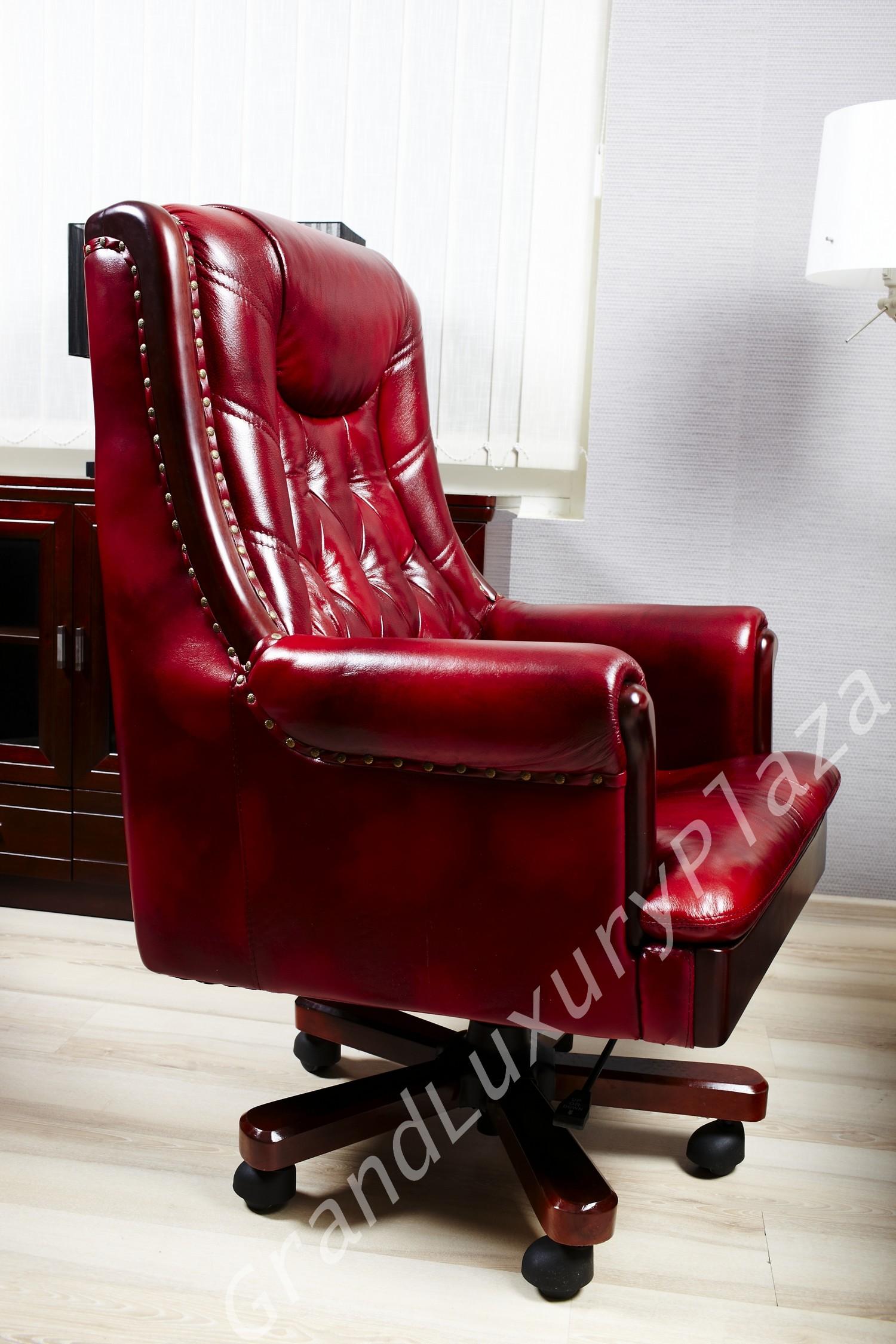 Poltrona sedia presidenziale direzionale pelle ufficio for Sedia ufficio alta