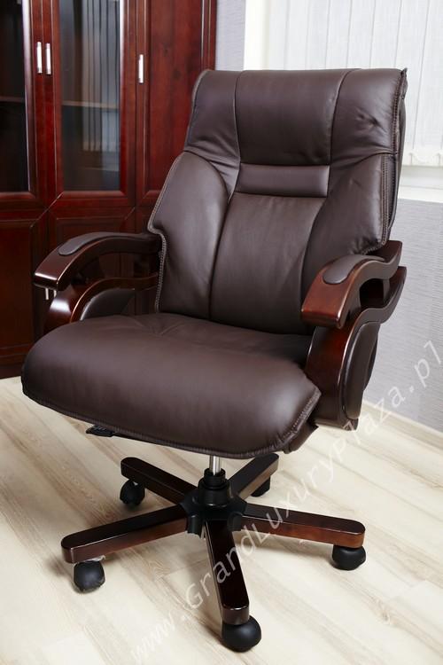 Confortable Fauteuil Pivotant De Bureau En Cuir Manager Grand Luxury Plaza