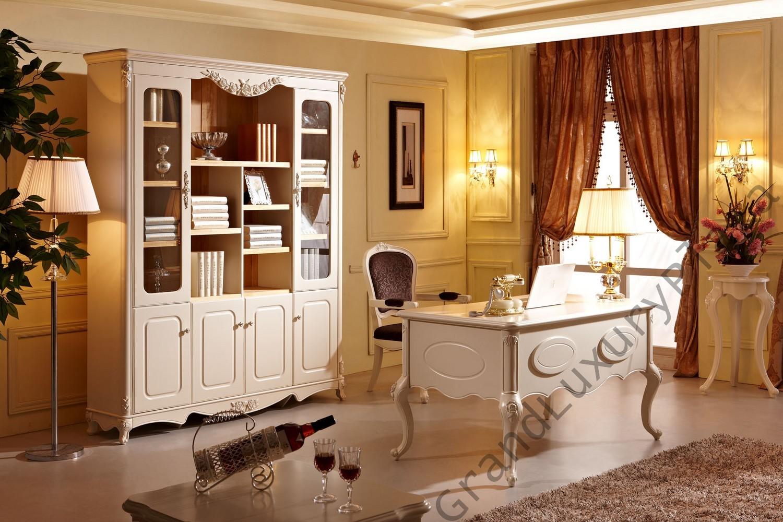 Scrivania tavolo ufficio studio presidenziale direzionale - Cassettiera bianca ufficio ...