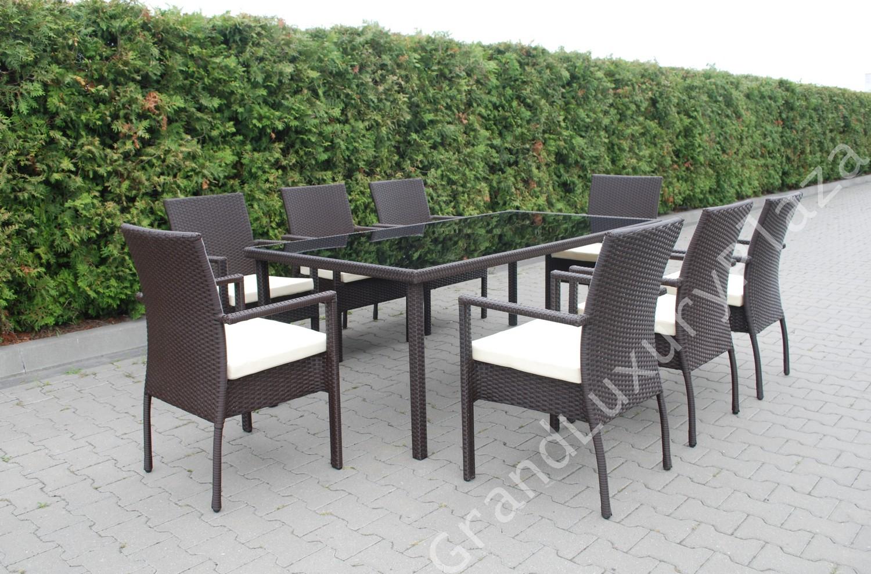 Tavolo giardino giardino in iophotos - Tavolo da giardino rattan ...