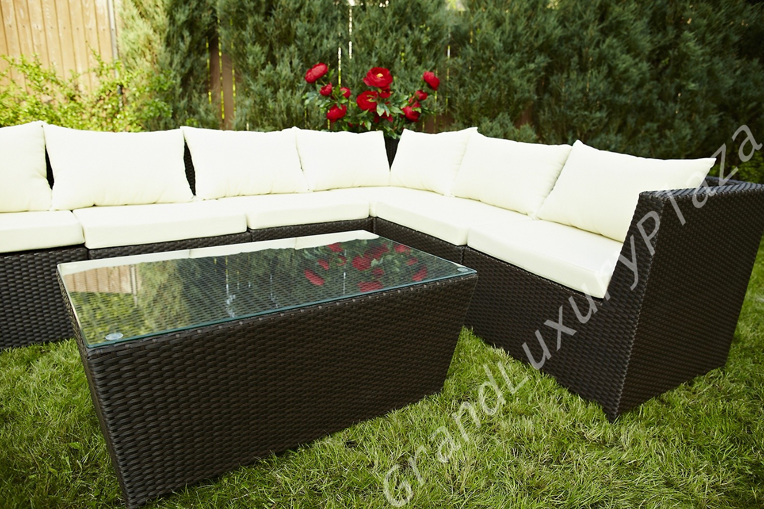 gartenm bel rattan rattanm bel terassenm bel wetterfest. Black Bedroom Furniture Sets. Home Design Ideas