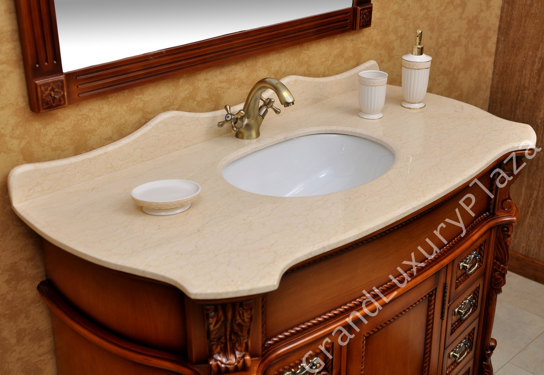 Bagni con top in legno - Top bagno legno massello ...