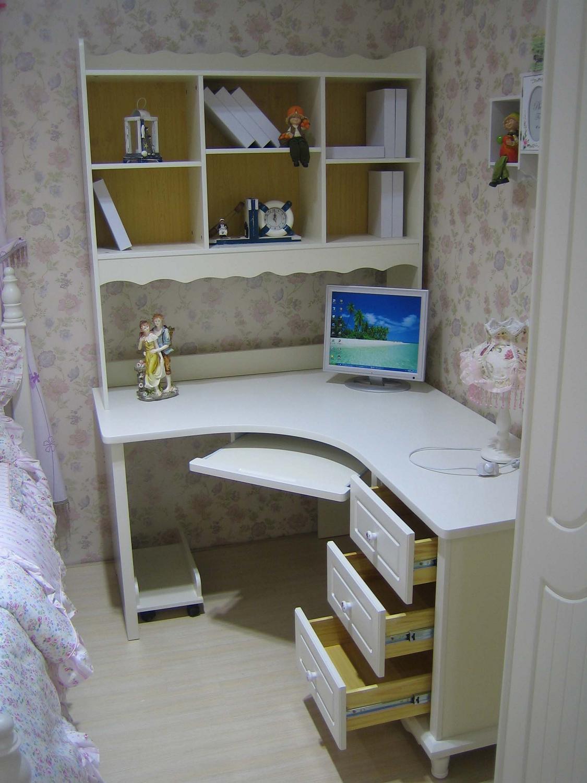 Scrivania ad angolo con alzata serie princess 813 for Mobile da scrivania